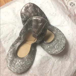 GUC Yosi Samra Size 9 Sparkly, Glitter Flats